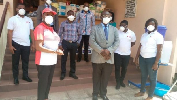DMAC and Vodafone Ghana Foundation donate PPE to GMA